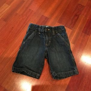 Boys (5T) Old Navy Carpenter Jean Shorts ** EUC!